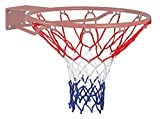 Champion Sports 405 Economy Basketball Net, Red/White/Blue, 4 mm