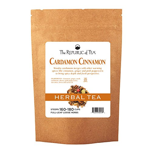 (REPUBLIC OF TEA Cardamon Cinnamon Loose Tea Bulk, 48 OZ)