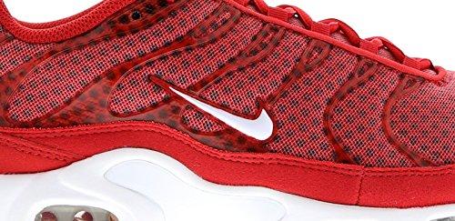 Nike Air Max Plus Txt, Zapatillas De Deporte para Hombre Rojo (Rojo (University Red/White))