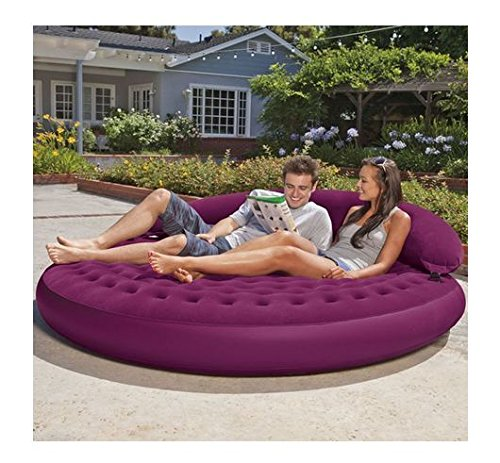 New Shop Intex Ultra Daybed Indoor Outdoor Inflatable Air Lounge Bed Airbed Chair 68881EP
