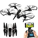 DAZHONG Foldable Drone Quadcopter 2.4G 2.0MP Camera WIFI FPV Altitude Hold G-sensor RC Quadcopter
