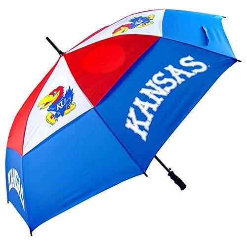 "Kansas Jayhawks 62"" Golf Umbrella - NCAA College Athletics"