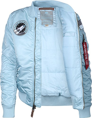 Alpha Air FV blouson MA 1 Industries W Blue Nasa grSg4qn