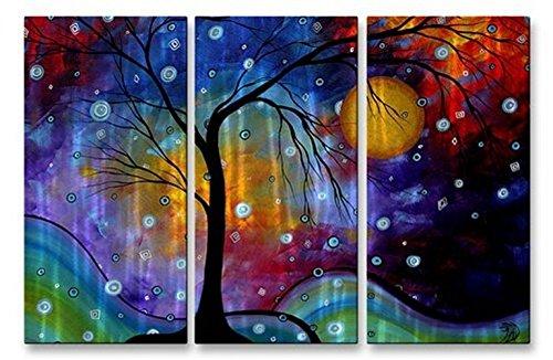 All My Walls Megan Duncan winter Sparkle Tree Stars Wall Sculpture