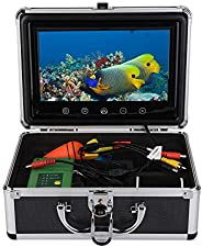 Portable Fish Finder Fish Finder Underwater Fishing Camera with Infrared Lights Underwater Camera for Sea/Rive