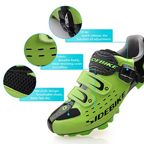 Smartodoors Sidebike SD002 Men's All Around Road Cycling Shoes with Nylon Soles