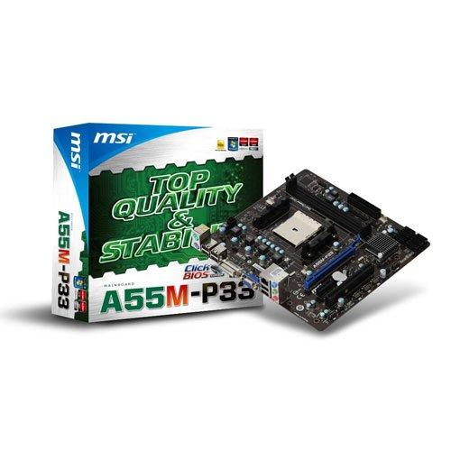 Photo - A55M-P33 - Mainboard - mATX