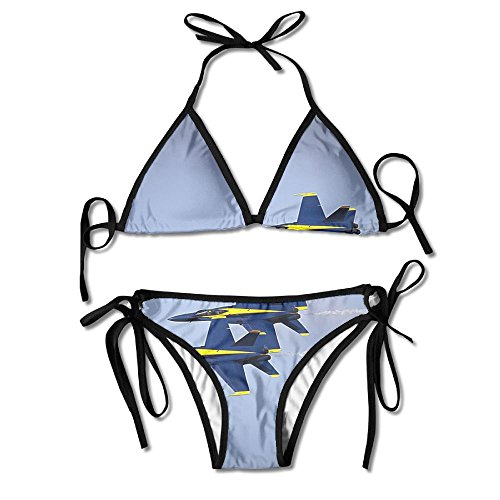 OYOOKO Fashion Military Exercises Padded Top Bottom Bikini Swiming Suit Two Piece Suits by OYOOKO