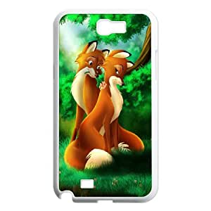 The Fox and the Hound for Samsung Galaxy Note 2 N7100 Phone Case 8SS458945