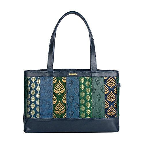 HIDESIGN Women's Hema Leather Handbag, Blue