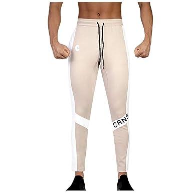 Pantalones Deportivos para Hombre Casual pantalón de chándal ...