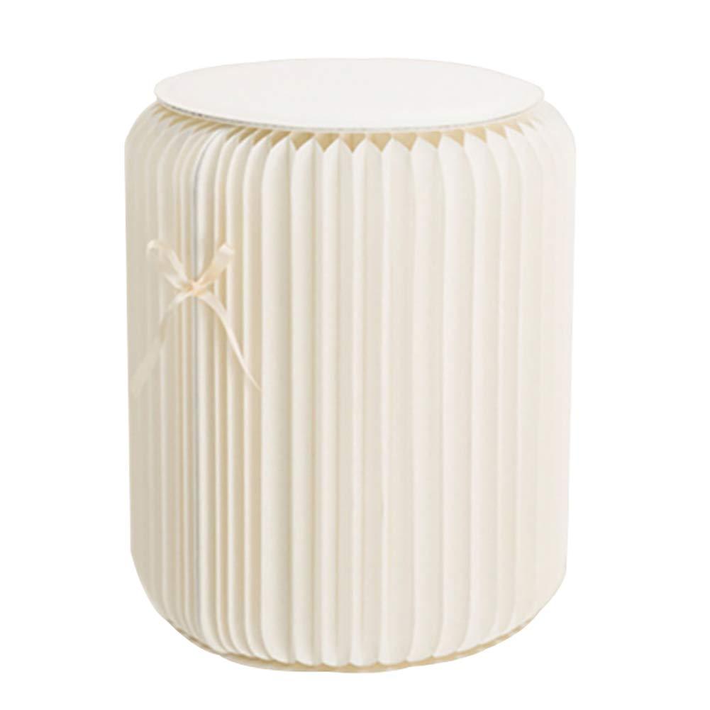Falten niedrig Schemel Stuhl Weißszlig; Multifunktion Möbel Kraft Papier Material Keine Montage erforderlich 35cm
