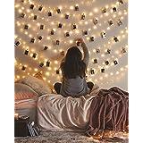 LED String Lights, Fairy Lights for Bedroom, Decorative Lights for Your Home, Hanging Lights For Room, Elegant Rope Lights Suitable for Christmas, Weddings, Parties Waterproof (33' 100 LEDs) - Vont