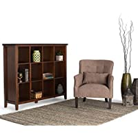Wyndenhall Stratford Auburn Brown Pine 12-cube Bookcase and Storage Unit
