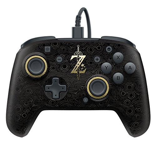 PDP Faceoff Deluxe Wired Pro Controller for Nintendo Switch (500-069-NA-LZ00) - Nintendo Switch
