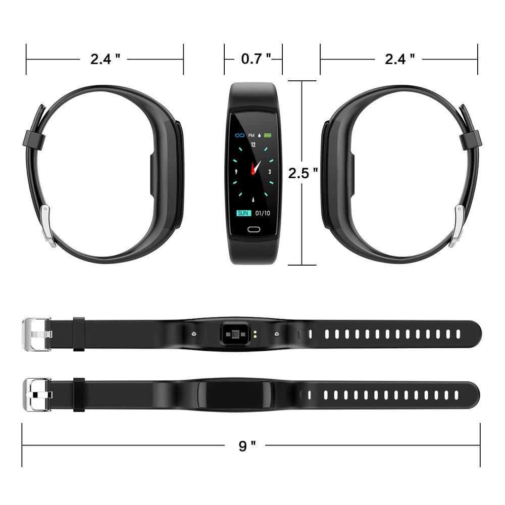 BZLine Reloj inteligente con Bluetooth, reloj de pulsera ...