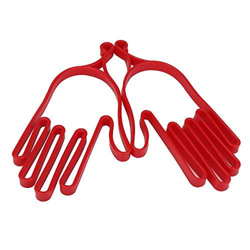 Durable Outdoor Sport Plastic Golf Gloves Mitten Holder Rack Stretcher 1 Pair