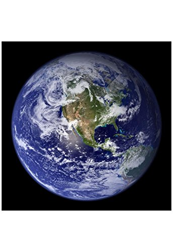 Planet Earth from Space (North America) Photo Poster 13 x 19in
