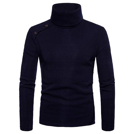 La Botonadura de la Blusa del suéter de los Botones Ocasionales sólidos del otoño del Invierno