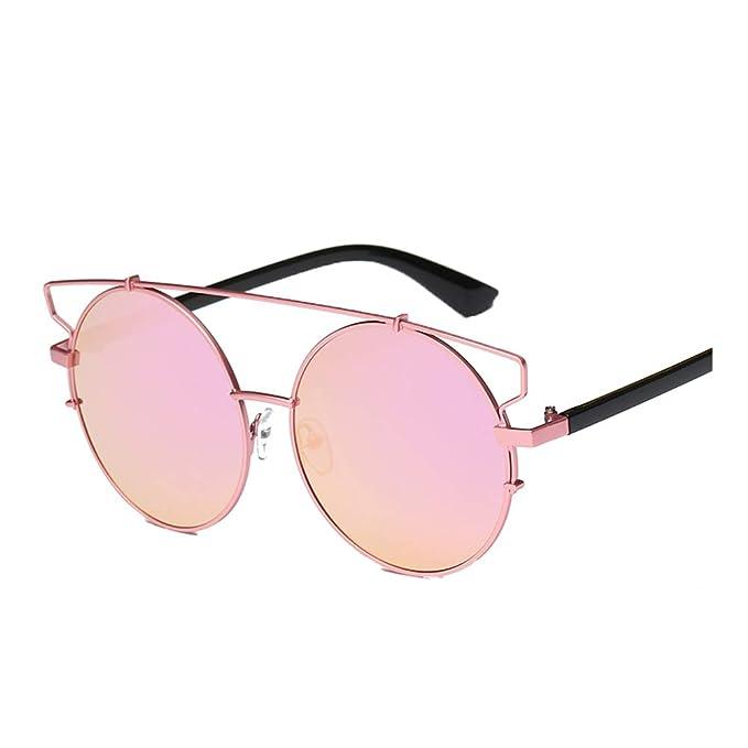 Gafas de Sol Redondas Grandes, ✿☀ Zolimx Gafas de Sol Polarizadas Hombre Mujer | Marca Retro/Vintage | Deporte | Redondas | Pequeñas | Baratas | Aleación ...