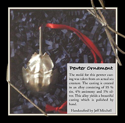 (Wellfleet Pewter Christmas Ornament Horseshoe Crab)