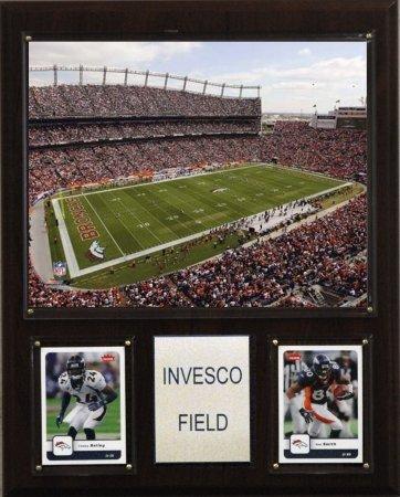 NFL Invesco Field Stadium Plaque ()
