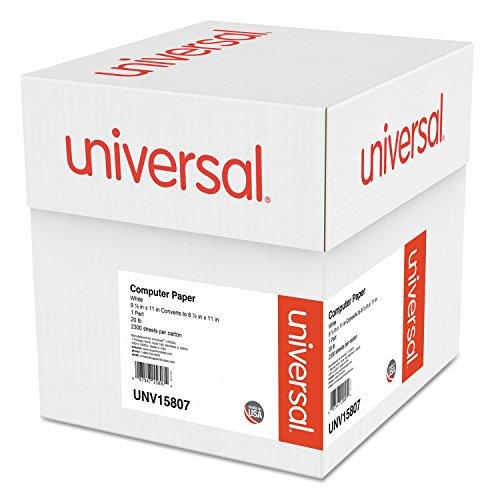Universal Computer Paper, 20lb, 9-1/2