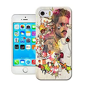 SIYJHO Creepy Painting Picture Of Elegant And Attractive Design Tpu Cases For Iphone5