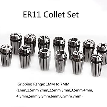13pcs ER11 Collet 65MM Clamp Mount 5M Water Pipe MYSWEETY 110V 1.5KW Water Cooled Spindle Motor CNC Spindle Motor +1.5KW Converter 110V Water Pump