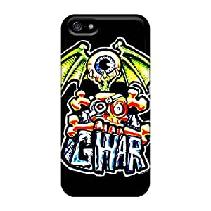 TimeaJoyce Iphone 5/5s Bumper Hard Phone Case Provide Private Custom Stylish Gwar Series [BhE16243OdDB]