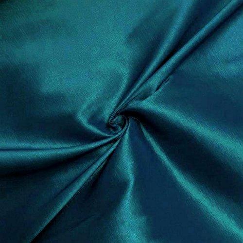 Medium/Light Weight Stretch Taffeta Fabric By The Yard (Teal (Teal Taffeta)