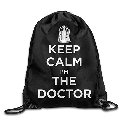 Doctor Who Unisex Shoulder Bags Drawstring Backpack/Rucksack