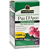 Natures Answer Pau d arco Inner Bark – 90 Vegeratarian Capsules – 1000 mg – Immune Support – Vegan – Gluten Free Review