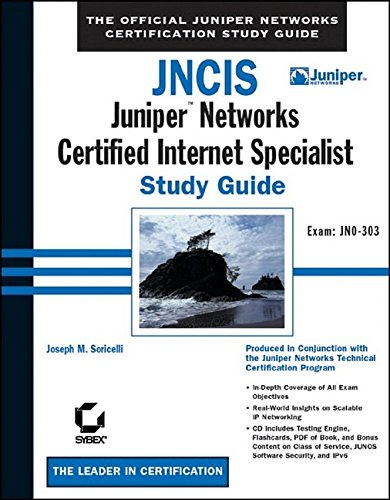 JNCIS: Juniper Networks Certified Internet Specialist Study Guide: Exam JN0-303 (Book & CD-ROM) (Study Guides (Sybex))