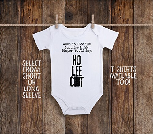 Funny Daddys Diaper Duty Baby Bodysuit For Inappropriate Adult Humor Poop Surprise by Adelyn Rose Boutique