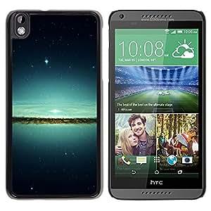 LECELL -- Funda protectora / Cubierta / Piel For HTC DESIRE 816 -- Lake & Stars --