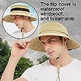 EINSKEY Sun Hat for Men/Women, Waterproof Wide Birm