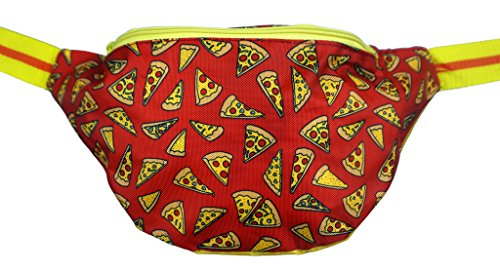 [Funny Guy Mugs Pizza Fanny Pack] (Easy Halloween Costume Ideas For Guys)