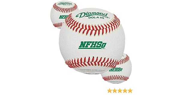 Diamond Sports Baseballs Leather DOL-A HS High School 3 Dozen 36 Balls