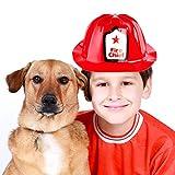 12 Pack Firefighter Children's Helmet Party