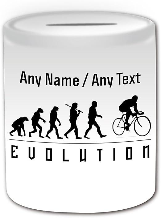 Personalizado regalo – caja de dinero de ciclismo (evolución tema ...