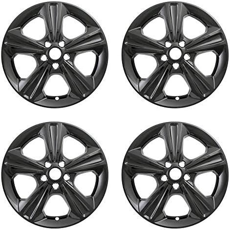 """4 New 17/"""" Chrome Wheel Skins Hub Caps Full Alloy Rim Covers for 2013-16 Ford Esc"""