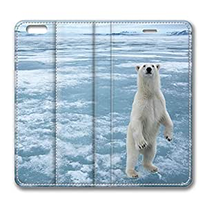 iPhone 6 Plus Case, Fashion Protective PU Leather Flip Case [Stand Feature] Cover Arctic Hd for New Apple iPhone 6(5.5 inch) Plus