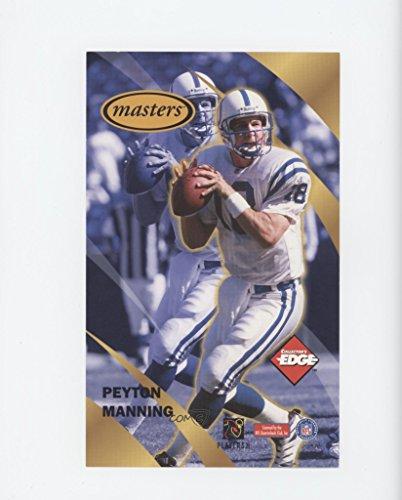 Peyton Manning (Football Card) 1998 Collector's Edge Peyton Manning Masters Jumbo Promo - [Base] #NoN - 1998 Peyton Manning Edge
