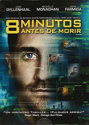 8 MINUTOS ANTES DE MORIR [SOURCE CODE] JAKE GYLLENHAAL,MICHELLE MONAGHAN,VERA FARMIGA. [Ntsc/region 1 & 4 Dvd. Import-latin America]. (Source Code Dvd)