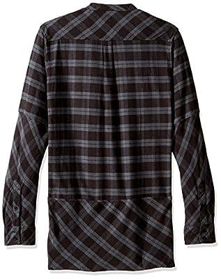 NEFF Men's Erikk Long Sleeve Flannel Button up