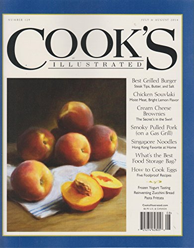 Cook's Illustrated July & August 2014 Best Grilled - Cooks Illustrated Best Of 2014