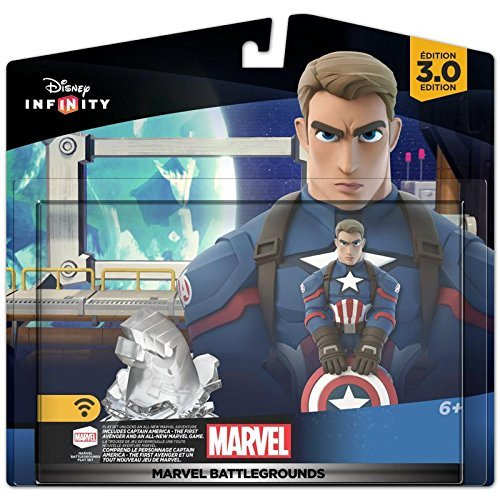 Ultron Suit (Disney Infinity 3.0 Marvel Battlegrounds Playset Themed Bundle Captain America, Black Suit Spiderman, Black Panther, Ultron, Hulkbuster Iron-man, Vision, and Ant-man)