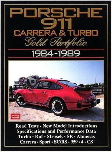 Porsche 911 Carrera & Turbo: Gold Portfolio 1984-1989