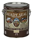 Ready Seal 100 Clear, 1-Gallon Exterior Wood Stain and Sealer, 1 Gallon